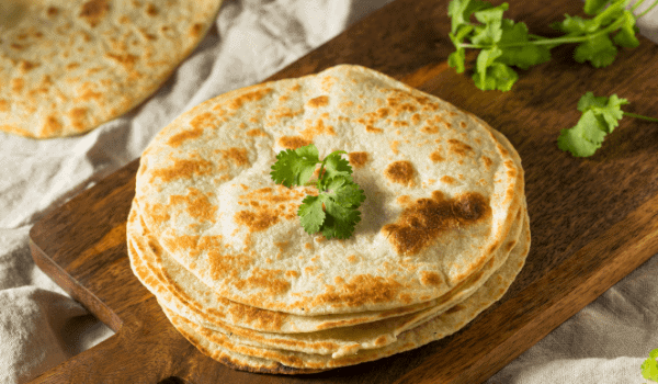 Freshly cooked Chapati