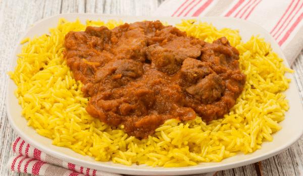 Lamb Rogan Josh Indian Food
