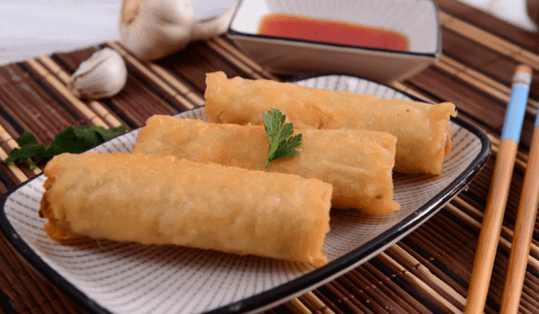Chinese Meat Spring Rolls