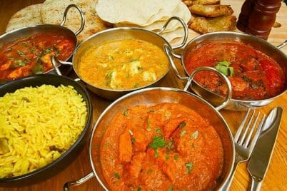 Indian Dishes and Their Approximate Syn Values